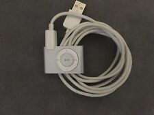 Apple iPod Shuffle 2nd Generation 1GB A1204 Silver Mp3 Player Tested! Works!