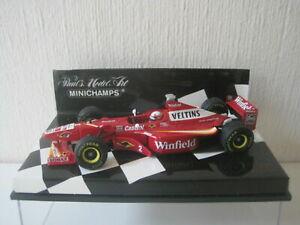 Minichamps 1/43 Williams Mecachrome FW20 JP Montoya - Test Silverstone 1998 Conv