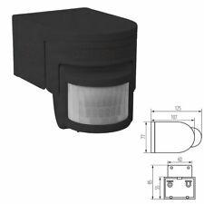 Black Kanlux Security PIR Infrared Motion Sensor Movement Detector Wall Mounted