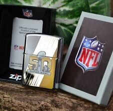 Zippo Lighter - NFL 50th Anniversary Super Bowl - Armor Limited Edition - 29152