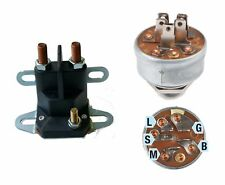 Universal Magnetschalter und Zündschloss für Rasentraktor MTD,TORO,STIGA, usw