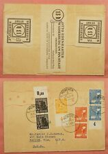 DR WHO 1947 GERMANY AMERICAN ZONE MUNICH TO USA CIVIL CENSORED 129224