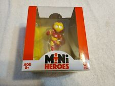 "Marvel Comics Mini Heroes ~ IRON MAN ~  4"" Mini Figure by Gentle Giant Series 01"
