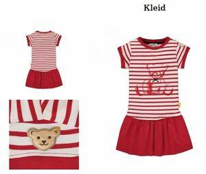 Kleid Steiff T-Shirtkleid Mädchenkleid mit angesetzes Rockteil Größe 98 / 2-3Y