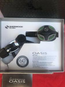 Sherwood Scuba Oasis 1st and 2nd Stage Regulator Set