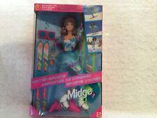 1994 Mattel Midge Winter Sports Doll, Super Flexible
