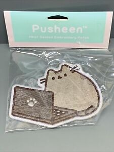 Pusheen  Heat Sealed Embroidery Patch. Brand New in Package (K)