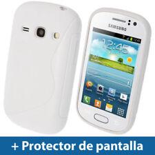 Fundas y carcasas Para Samsung Galaxy S color principal blanco para teléfonos móviles y PDAs
