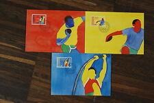 OLYMPICS 1984 Los Angeles MAXIMUM CARD Liechtenstein 3x maxicard Olympic Games