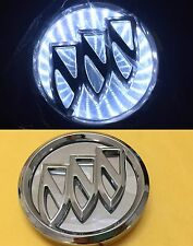 Waterproof 3D LED Car Logo Light White Auto Rear Emblems Lamp For Buick Excelle