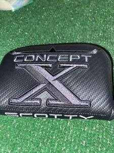 New Titleist Scotty Cameron Concept X Putter Headcover Mallet