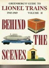 Greenberg's - Lionel Trains Soft Cover Book - Behind the Scenes
