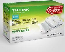 Powerline Wi-Fi Internet Range Extender HD Video Stream Online Gaming Wireless