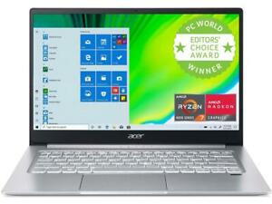 New Acer Swift 3 SF314-42-R6T7 14'' FHD IPS Laptop Ryzen 5 4500U 8GB 512GB W10