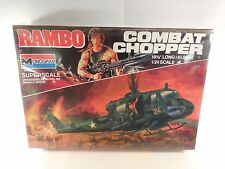 SEALED VINTAGE RAMBO COMBAT CHOPPER 1:24 SUPERSCALE MODEL KIT MONOGRAM 1985 MIB