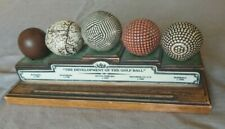History of the Golf Ball decorative display