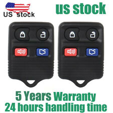 2pcs Keyless Entry Remote Control Car Key Fob Clicker Transmitter Replacement