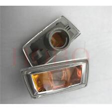 2xFor Chevrolet Cruze 2009-14 Car Left+Right Fender Leaf Light Trim Cover Nobulb