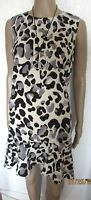NWT NEXT ANIMAL PRINT KNEE LENGTH DRESS SIZE 12 mother of bride