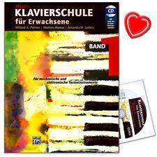 Klavierschule für Erwachsene 1 mit CD - Alfred Music - ALF6268 - 9783933136084
