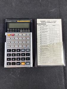 Vintage Casio Fx 5000 F Scientific Formula 128 Calculator
