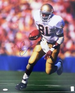 Tim Brown Signed Notre Dame Fighting Irish 16x20 Photo Tristar Authenticated