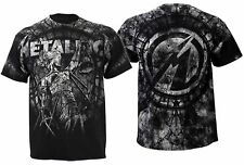 METALLICA cd lgo STONE JUSTICE Official SHIRT MED New and justice for all