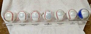 Mickey Mantle Commemorative Baseball Set with Display Rack