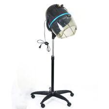 Standing Hood Floor Hair Bonnet Dryer Adjustable Rolling Base Salon Wheels