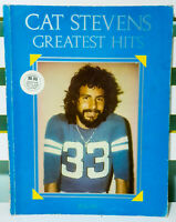 Cat Stevens Greatest Hits! Vintage 1974 Sheet Music Book for Voice & Guitar!