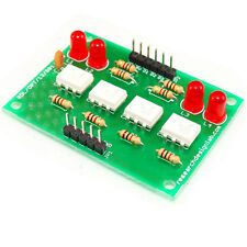 4 Channel Opto Isolated Board Input 5V to 5V for Arduino Atmel  PIC Raspberry Pi