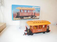 Playmobil traincar western 4120 PRR passenger  wagon car ovp