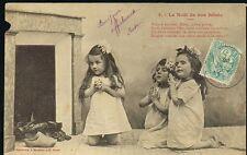 Vintage Le Noel de nos Bebes Carte Postale No. 3