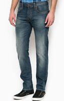 Mens Lee Daren Slim Straight Fit Jeans (SECONDS) RRP£85 Ref L125