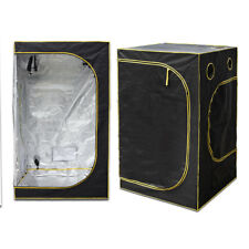 Hydroponic Water-Resistant Grow Tent with Removable Floor Tray Aluminum Foil