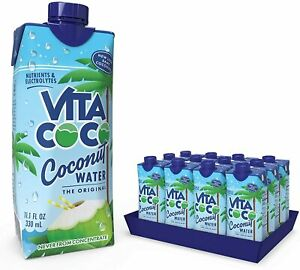 Vita Coco ,Pure Coconut Water 330ml x 12 Naturally Hydrating