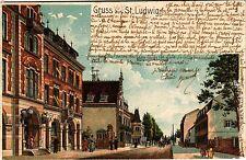 CPA   Gruss aus St-Ludwig     (355021)
