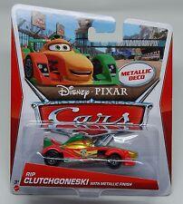 Disney Pixar Cars RIP CLUTCHGONESKI WITH METALLIC FINISH 1:55 New 2013