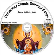 Orthodoxy Chants Spiritual Songs Sacred Meditation Music Audio CD