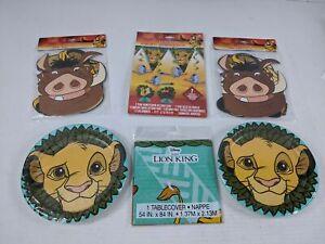 Disney Lion King Birthday Party Pack Children 6 pc L2 073