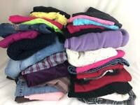 28 pc. SCHOOL CLOTHES LOT Girls Size 12 ~ Pants Shirts  FALL & WINTER Outfits