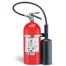 Badger™ Extra 10 lb CO2 Extinguisher w/ Wall Hook  UL Rating: 10B:C