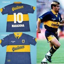 Diego Maradona Boca Juniors 1997-98 Argentina Retro Soccer Football Jersey