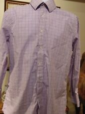 English Laundry Men's Long Sleeve Flip Cuff shirt 17 32/33
