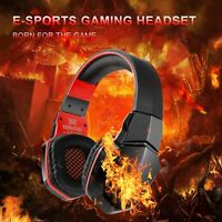 Wireless Stereo Headphones Pro Gaming Headsets with Mic for Smartphone Tablets