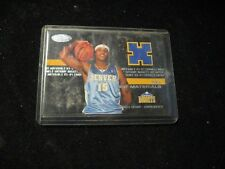2003-04 Fleer Hot Prospects Hot Materials HM-CA Carmelo Anthony Nuggets RC Mint