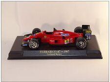 1:43 Ferrari F1-87 1987 Gerhard Berger