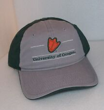 New NCAA OREGON DUCKS The Game Split Bar Cap Hat EMBROIDERED DUCK PRINT One Size