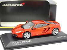 Minichamps 1/43 - McLaren MP4-12C Volcano Orange