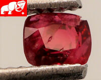 JEDI! GLOWING VIVID COLOR! Unheated 0.50 CT JEDI RED Spinel (Burma)